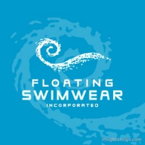 Floating Swimwear logo design