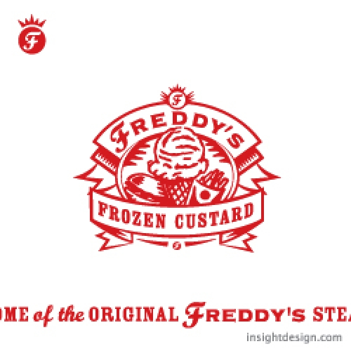 Freddy's Frozen Custard logo design