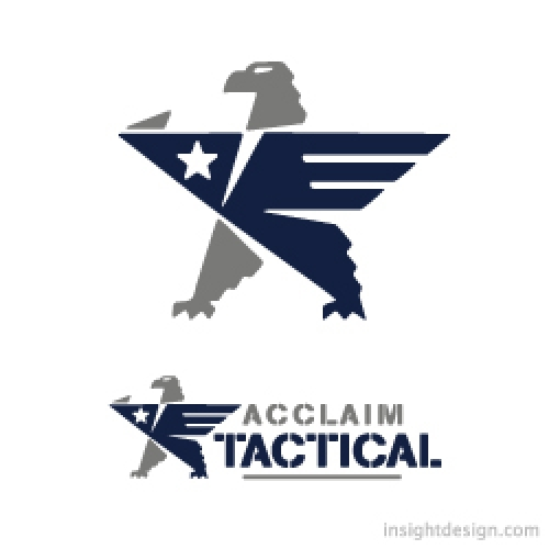 Acclaim Tactical logo design