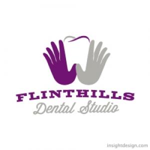 Flinthills Dental Logo Design