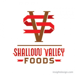 SHALLOW VALLEY FOODS LOGO DESIGN