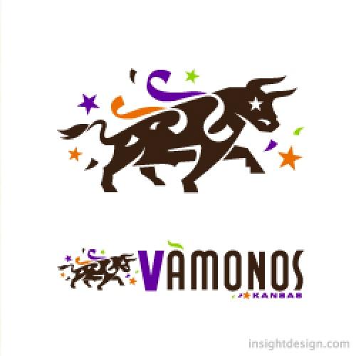 Vàmanos logo design