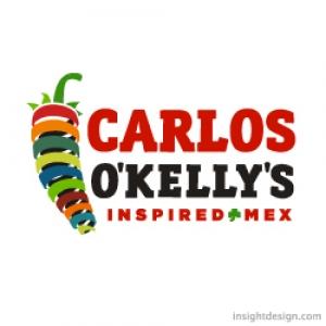 Carlos O'Kelly's Mexican Restaurant Logo Design