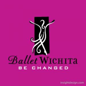 Ballet Wichita logo design