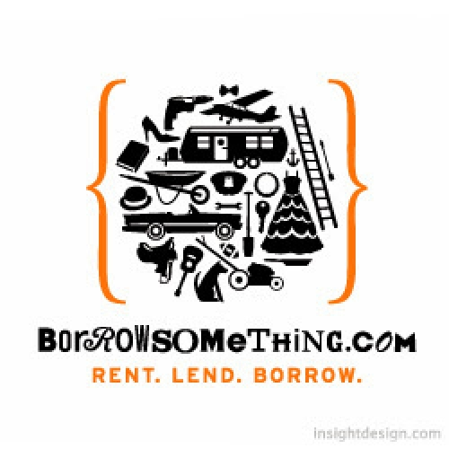 BorrowSomething.com logo design