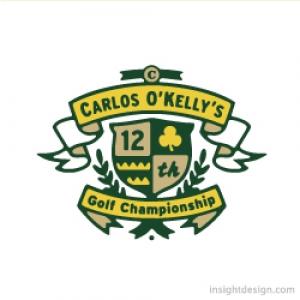 Carlos O'Kelly's Golf Championship logo