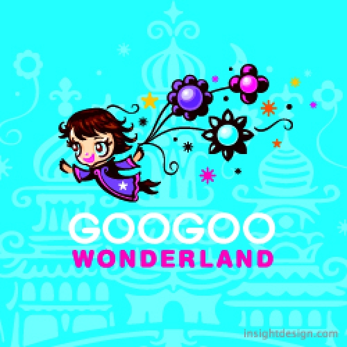 GooGoo Wonderland delivery logo