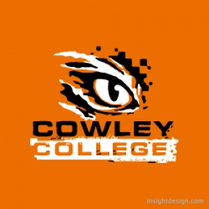 Cowley College Tigers logo design