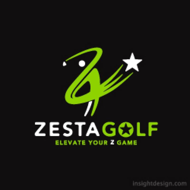 Zesta Golf logo design