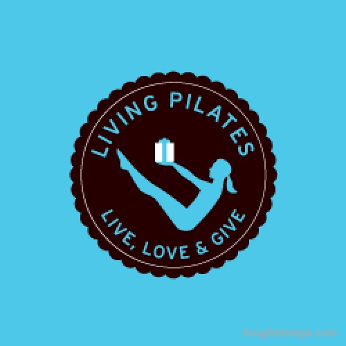 Living Pilates logo