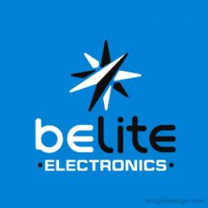 BeLite Electronics logo design
