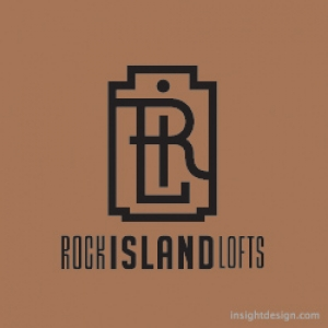 ROCK ISLAND LOFTS LOGO DESIGN