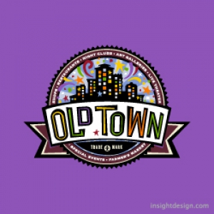 Old Town logo design