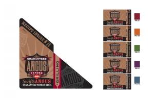 Guaranteed Tender Angus Beef Brand Packaging