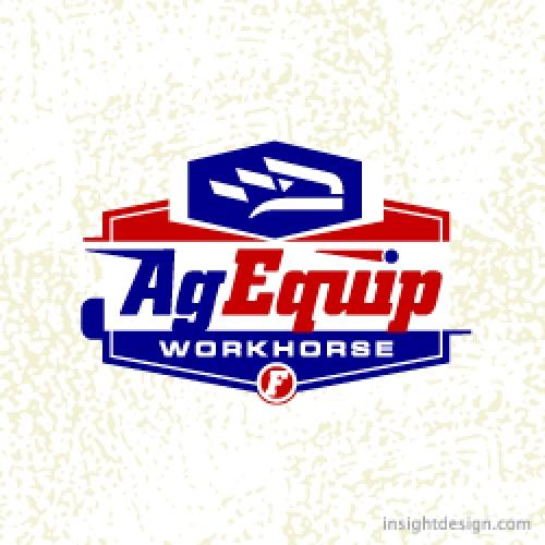 AgEquip logo design