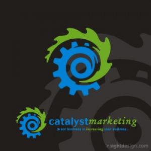 Catalyst Marketing logo design