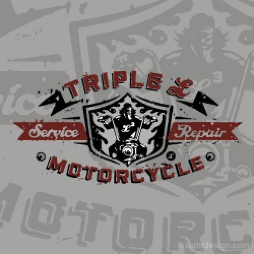 Triple L Motorcycle Service logo