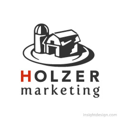 Holzer Marketing logo design
