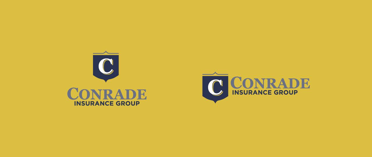 Conrade yellow logo website