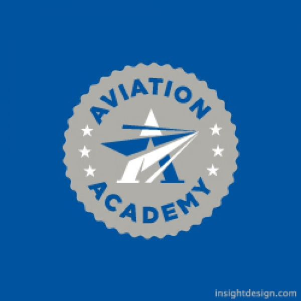 Aviation Academy Logo Design