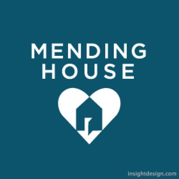 Mending House Logo Design