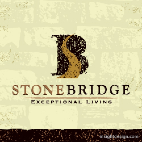 StoneBridge Homes logo design