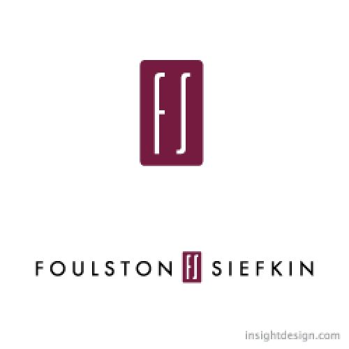 Foulston Siefkin logo design