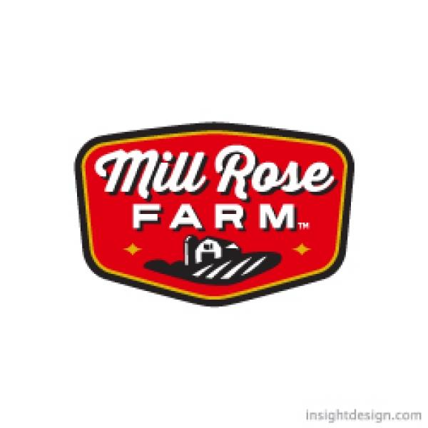 Logo Design for Mill Rose Farm
