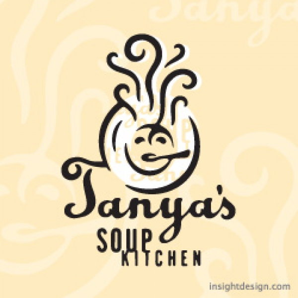 Tanya's Soup Kitchen Logo design