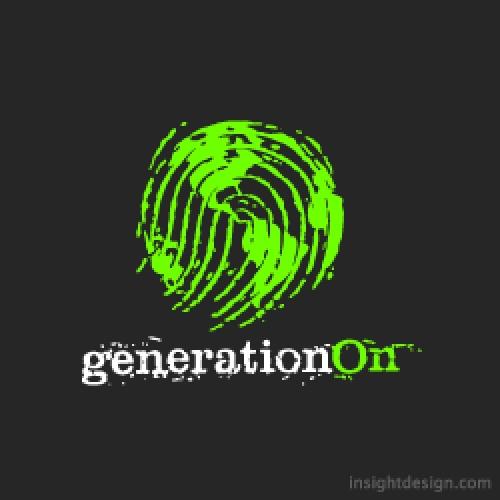 generationOn logo design