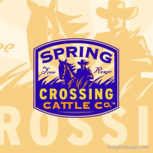 Spring Crossing Cattle Company logo