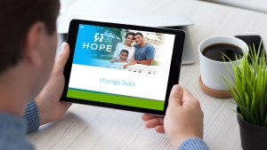 Wichita Website Design for HOPE