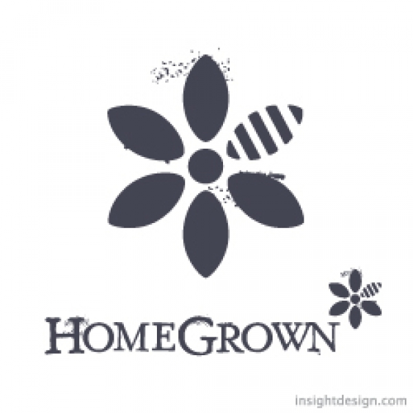 HomeGrown Logo Design