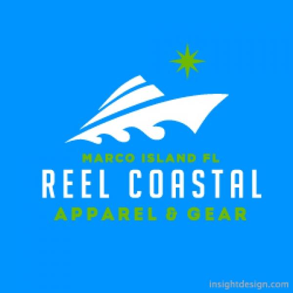 Reel Coastal Logo Design