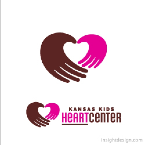 Kansas Kids Heart Center logo design