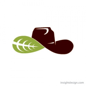 Natural beef brand logo for retail and website.