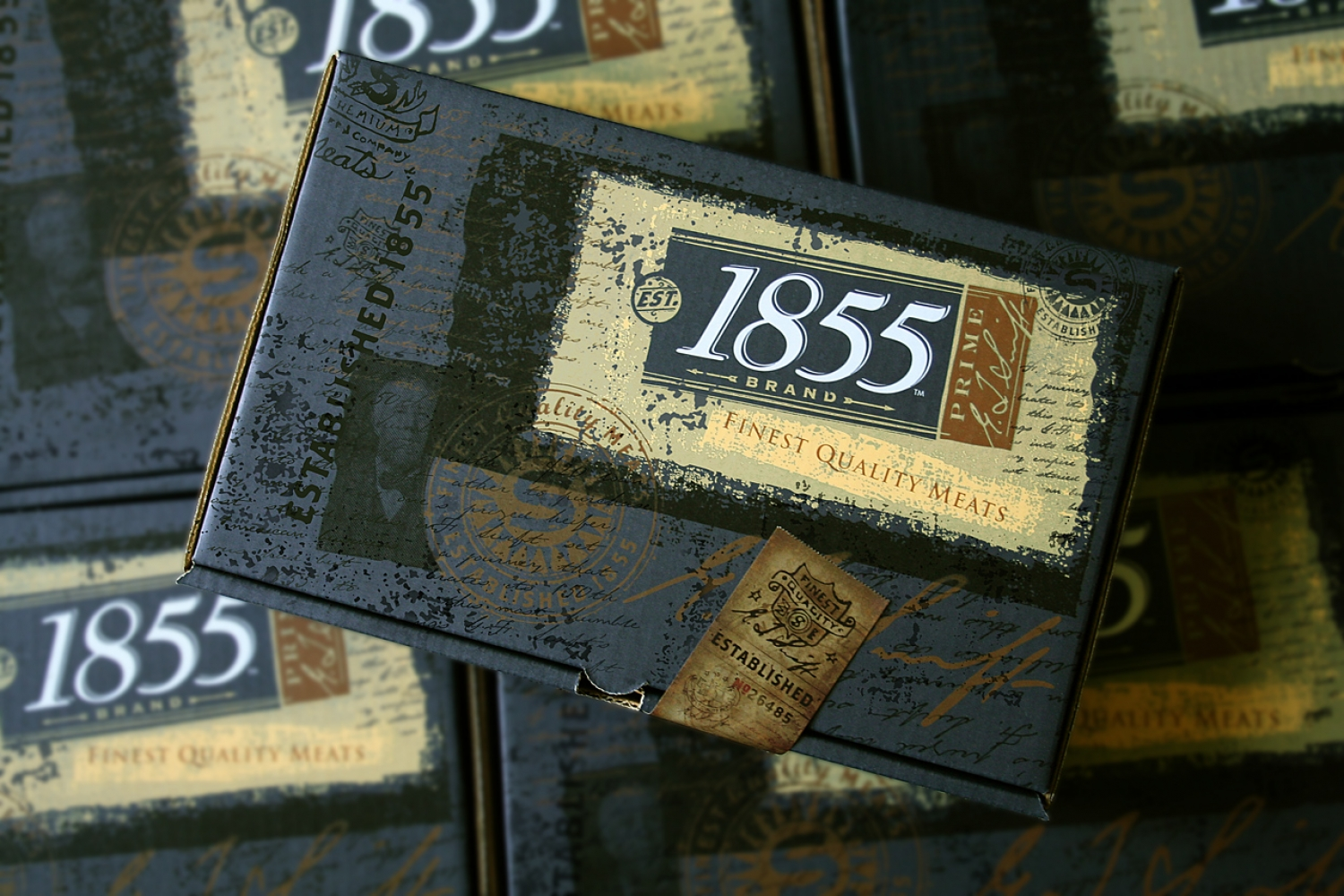 1855 Brand Packaging