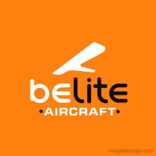 Belite Aircraft logo design