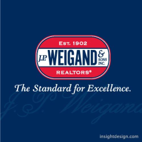 J. P. Weigand & Sons logo design