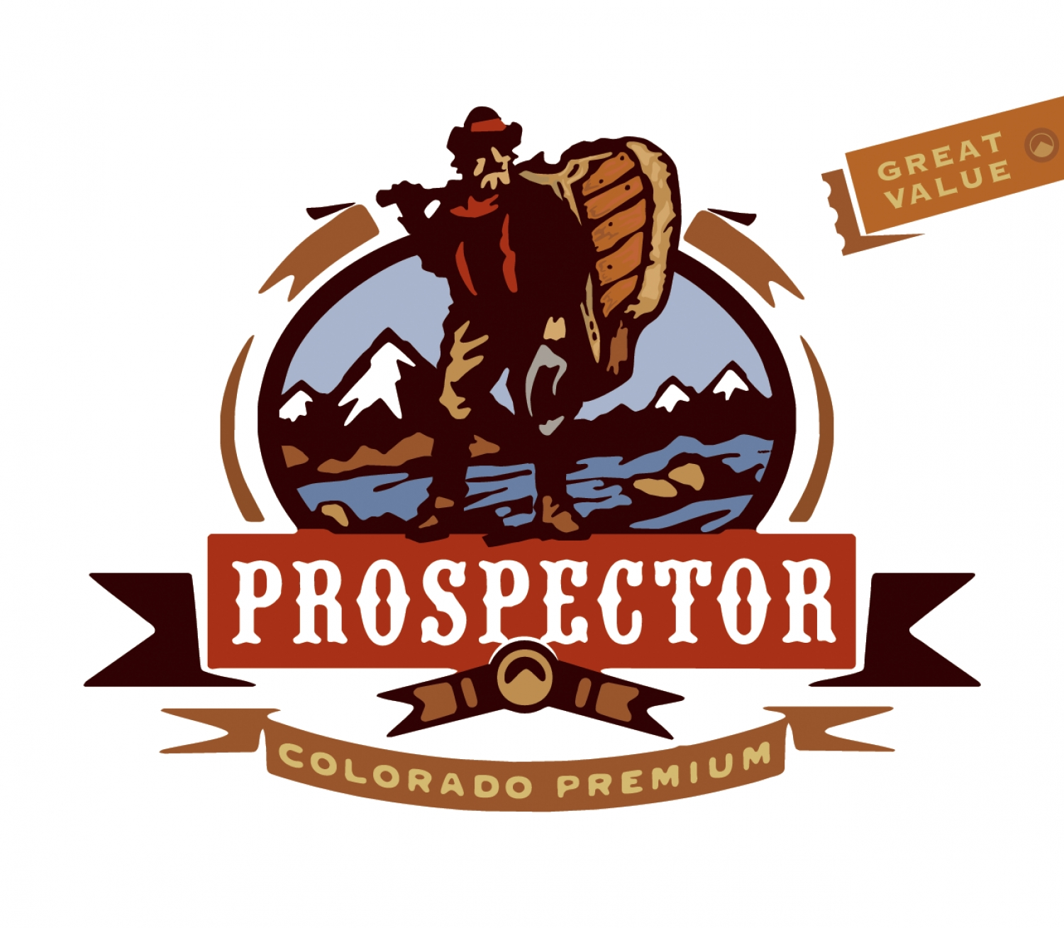 Prospector Brand Packaging
